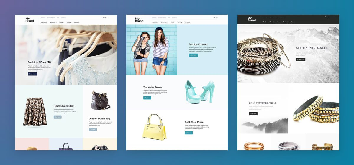 Choosing Your Shopmatic Theme