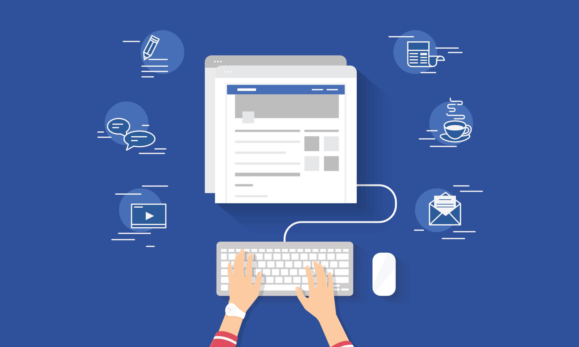 How to use Facebook Groups, Live and Events