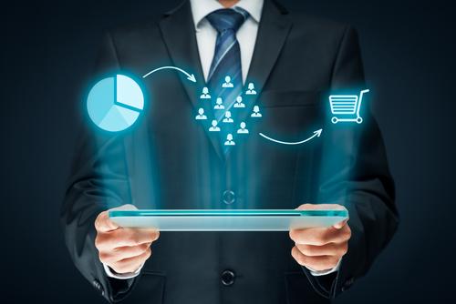 sales with customer segmentation