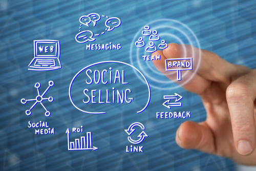 what is social selling