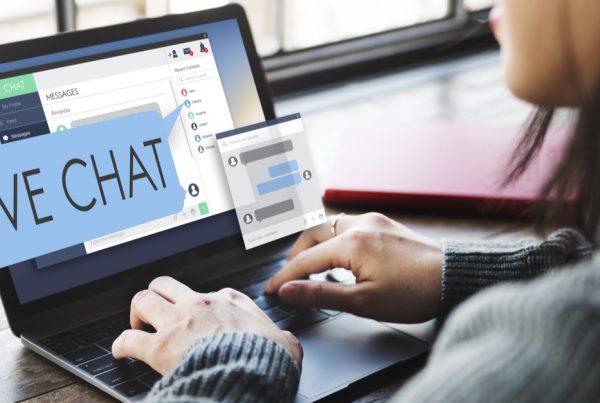 Live chat sales
