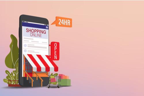 Online web store